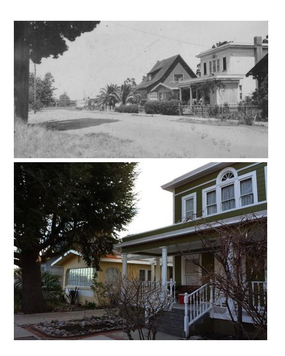 The homes on Waltermire were constructed from the early 1900's to 1930's