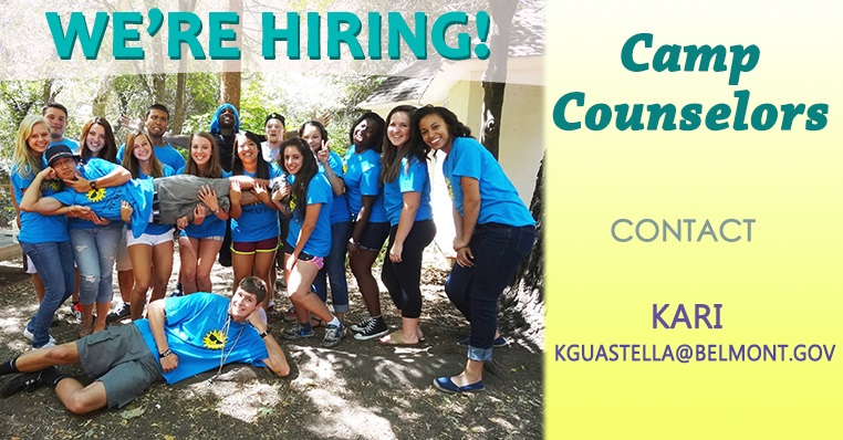 Hiring for Camp Counselors
