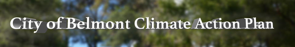 City of Belmont Climate Action Plan