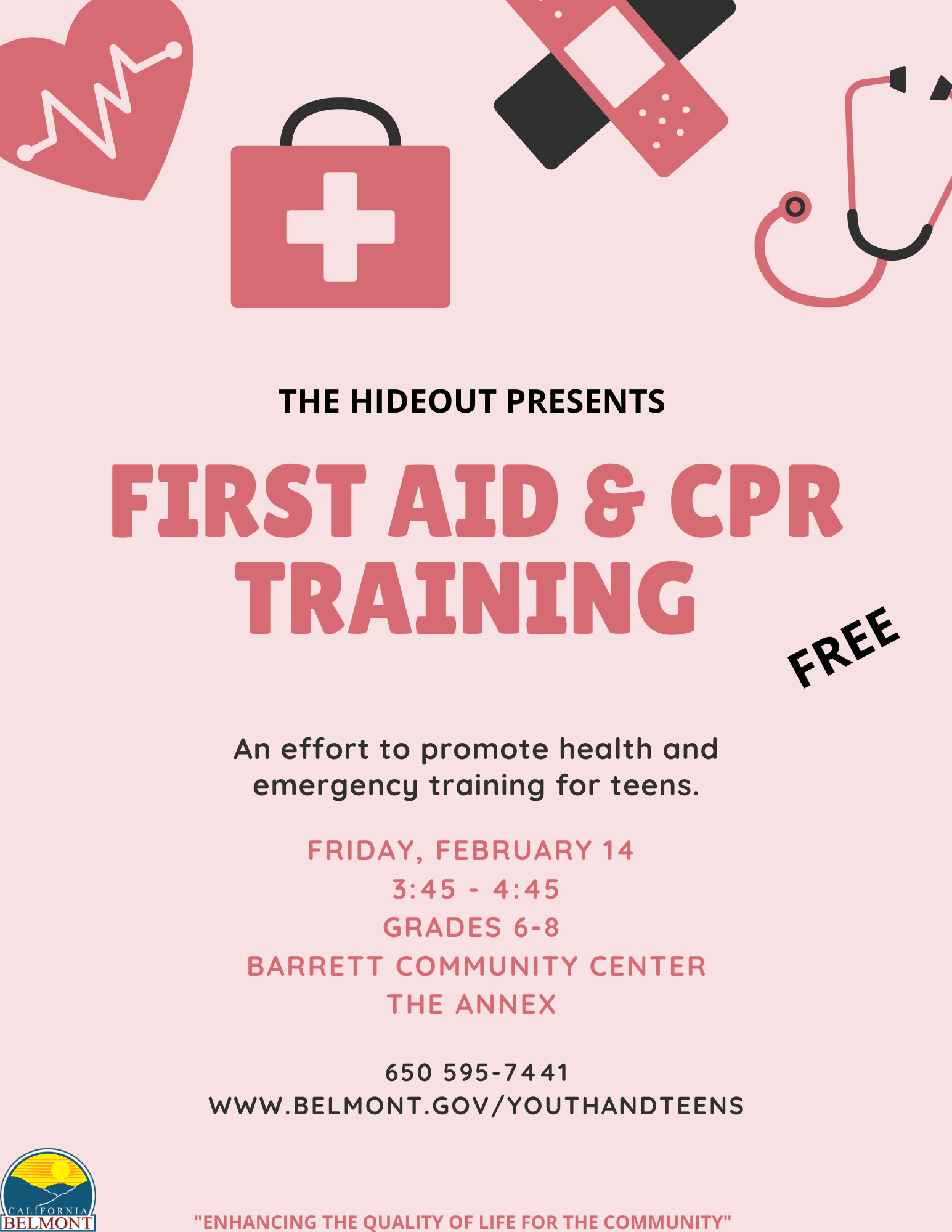 First Aid & CPR Training 2020
