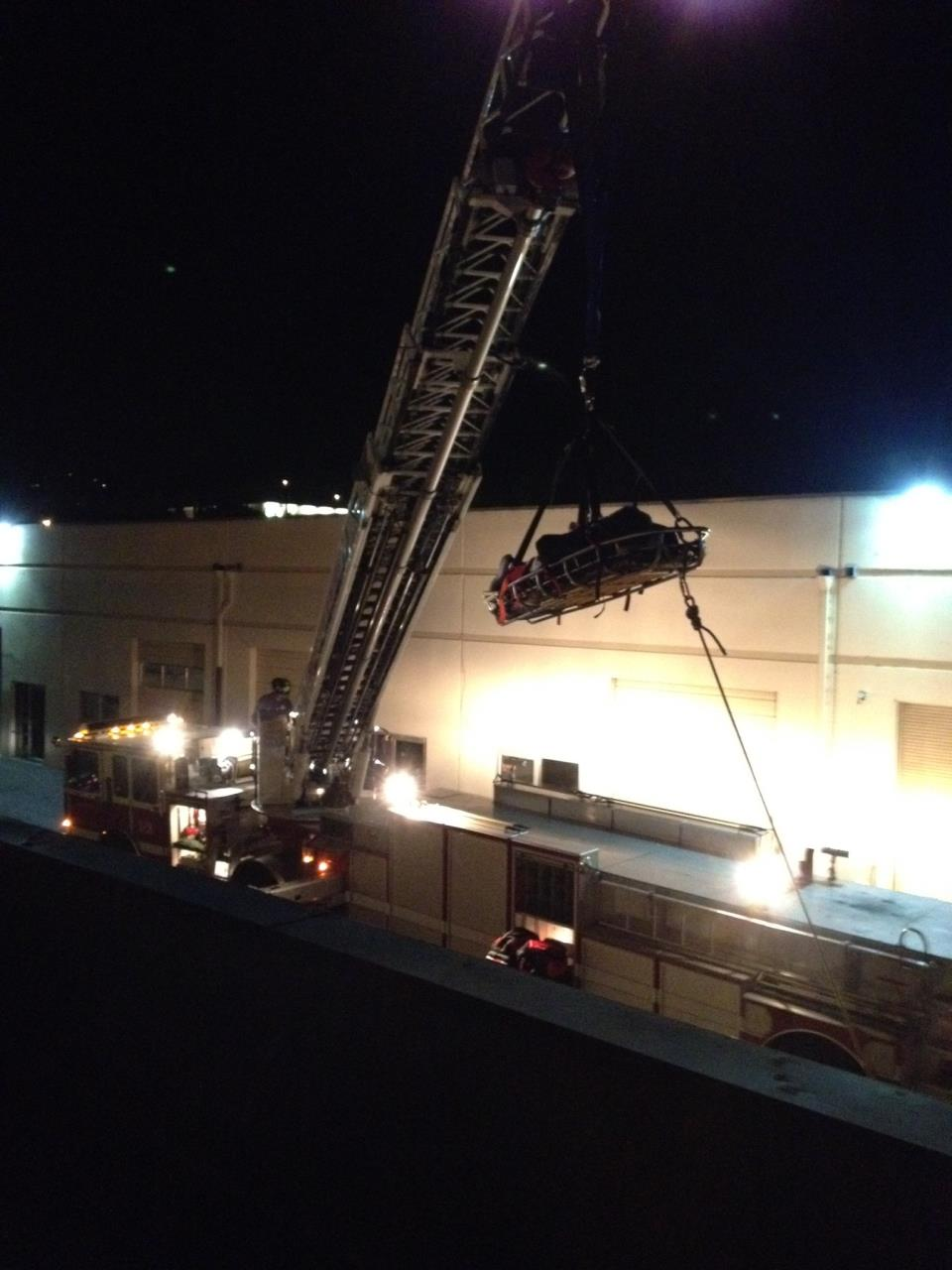 Assault Suspect Found Hiding on Roof of Belmont Business